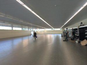 Interior Aldi realizado por avante construcción