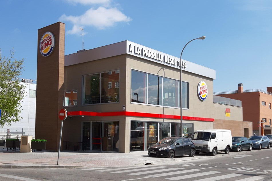 burguer king estocolmo en Madrid