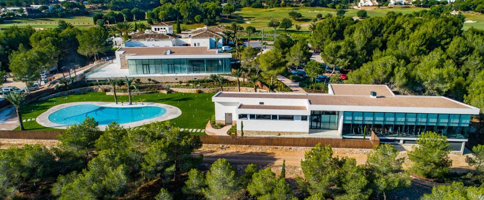 Colinas Golf Club construido por Avante Alicante