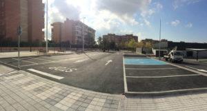 aparcamiento de obra civil en Elche