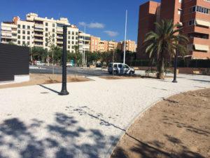 creación de jardín y zona verde en Elche - Avante construcción