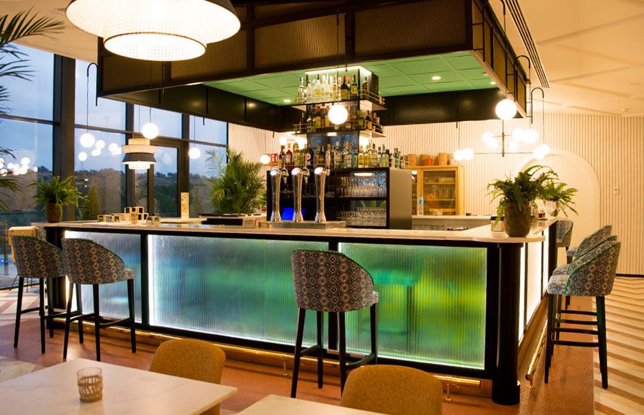 restaurante italiano Il Palco - Avante construcción