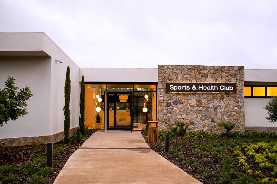 Entrada sport health club de