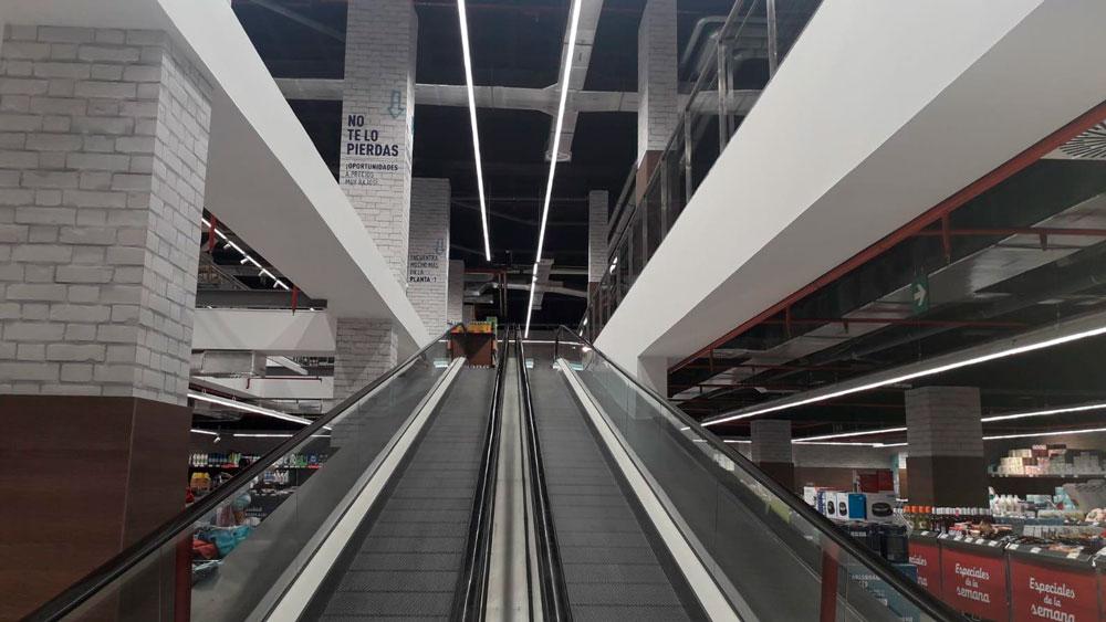 Aldi realizado por Avante construcción en Madrid