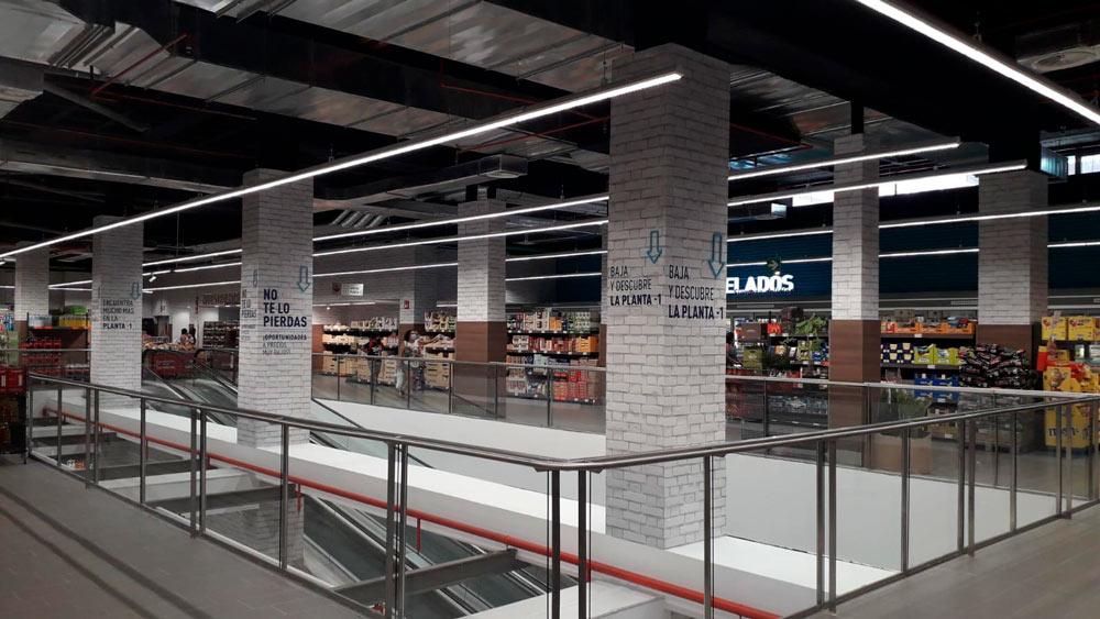 Nuevo Aldi realizado por Avante construcción en Madrid