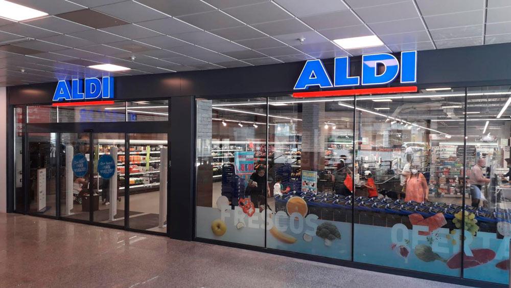 Aldi realizado por Avante construcción en la zona de Madrid