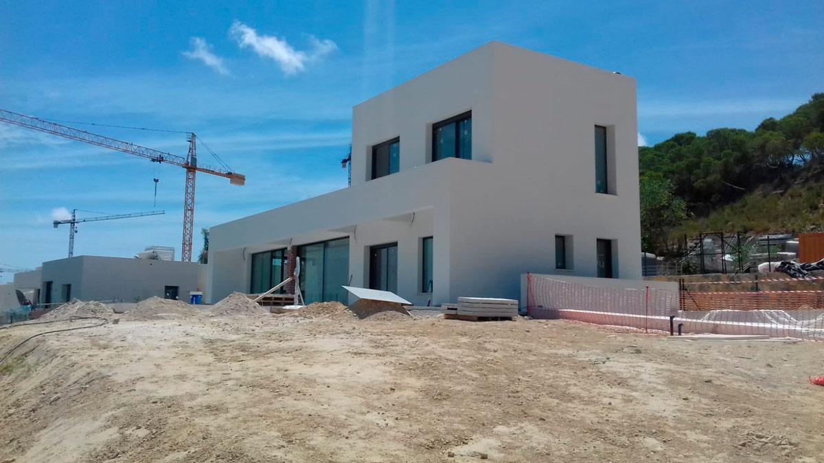 Evolución de las viviendas unifamiliares Madroño