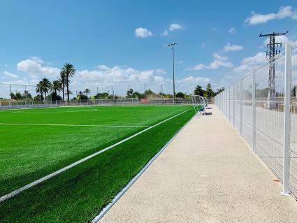 Campo de fútbol para el Ayuntamiento de Elche