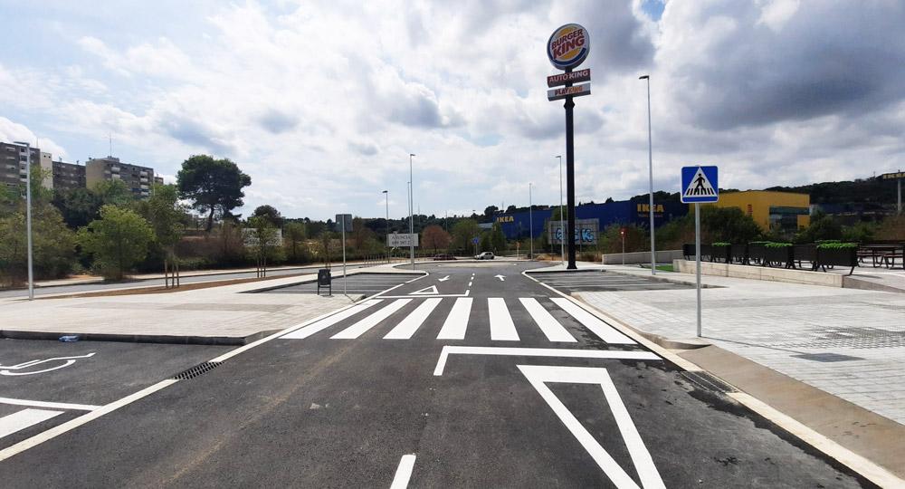 Avante Construcción ha realizado la urbanización vial en Sabadell