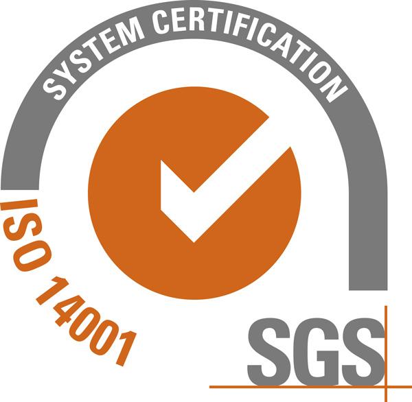 Sello 14001 del sistema de Gestión Ambiental