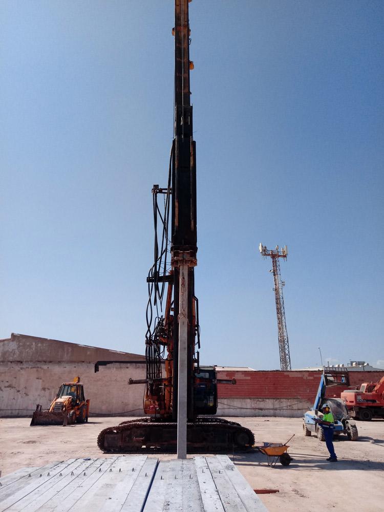Cimentaciones especiales y consolidación del terreno